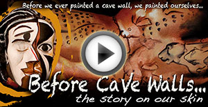 Before Cave Walls...the story on our skin