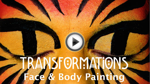 Transformations - Face & Body Painting