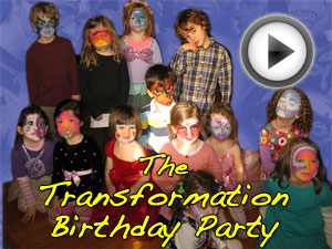 The Transformation Birthday Party